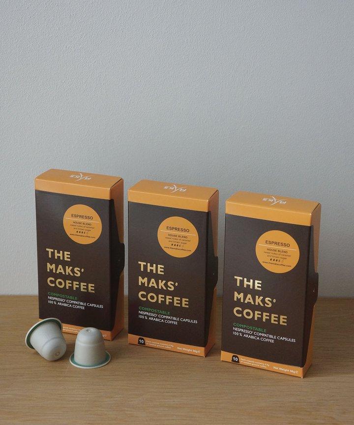 Makspresso Trio - Caramel & Brown Sugar