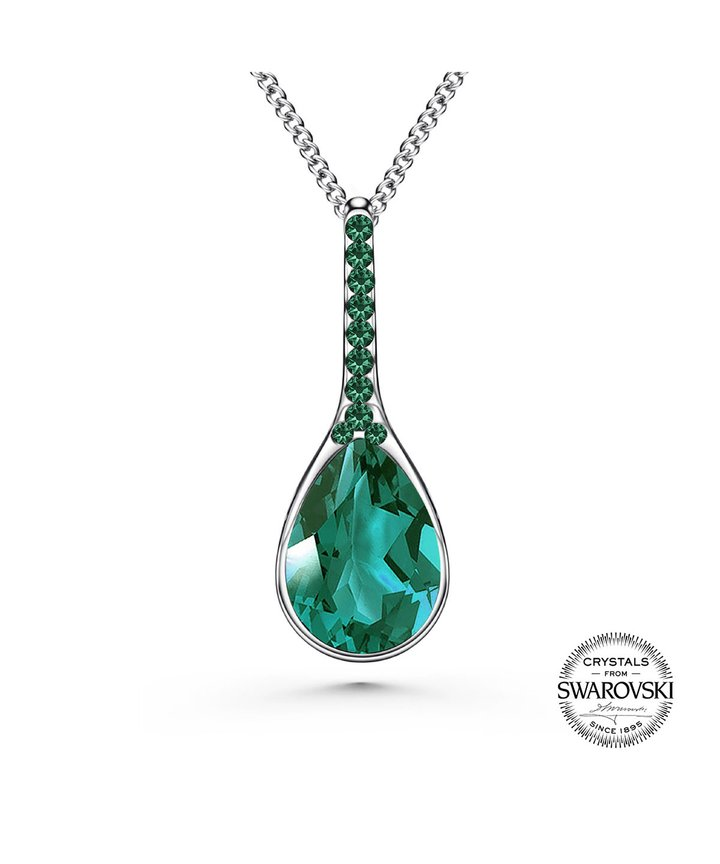 Tia Emerald Necklace