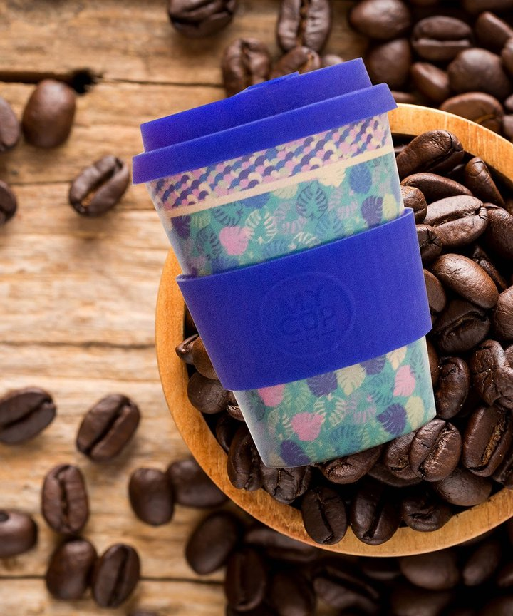 My Cup by LH - Reusable Bamboo Fiber Coffee Cup