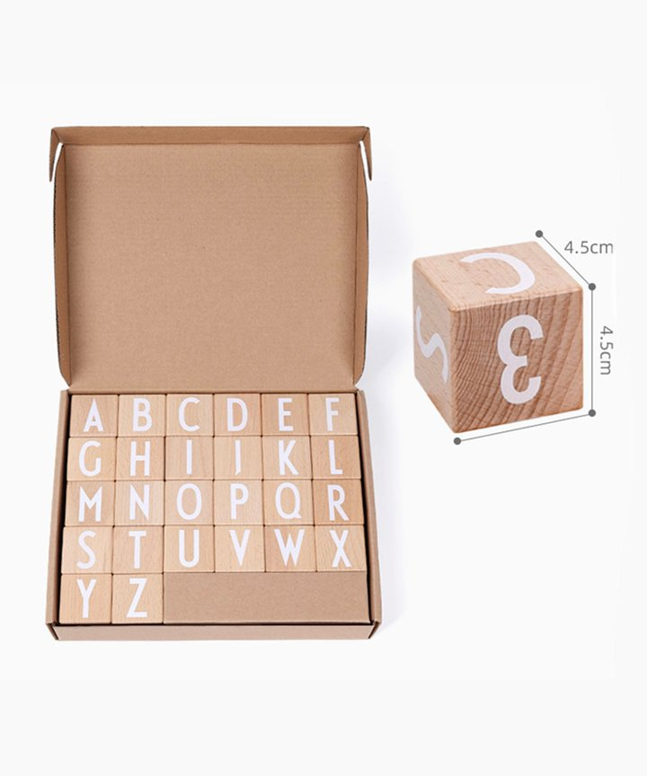 Alphabet & Number Blocks