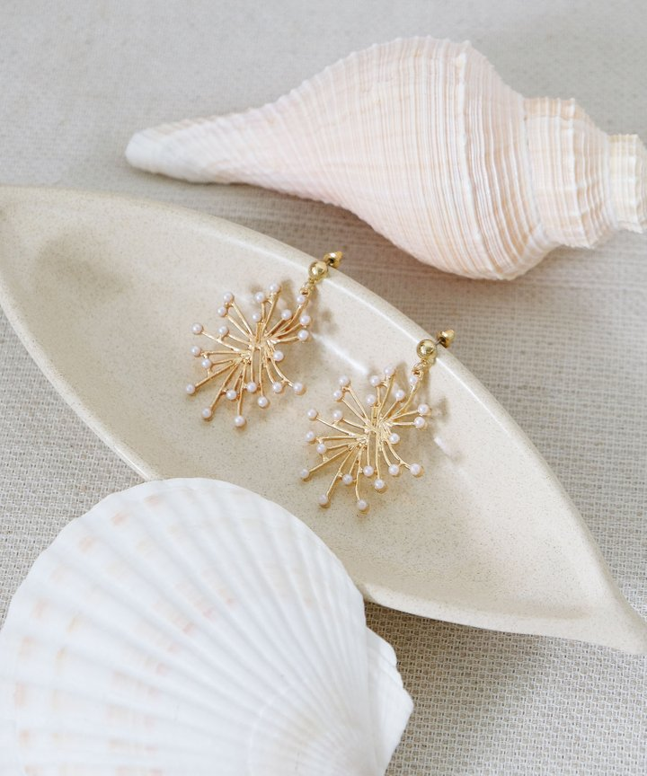 Chai Pearl Vine Earrings