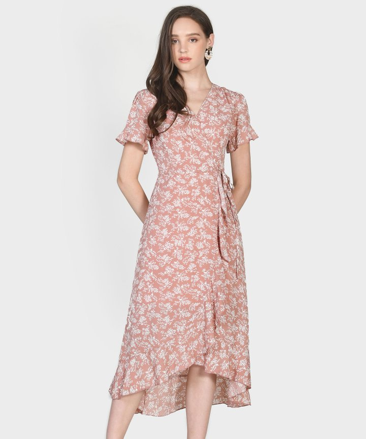 Charlotte Overlay Dress - Blush Pink