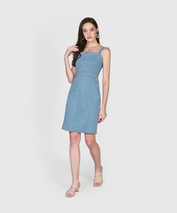 Delacour Denim Dress