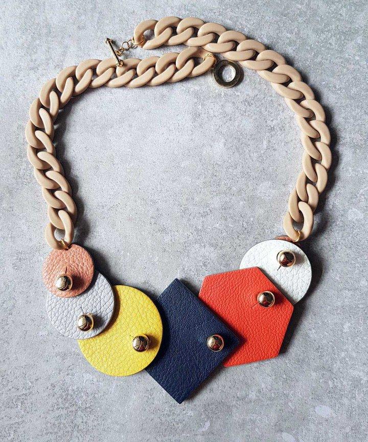 Multiway Necklace Set - Basic (Vermillion)