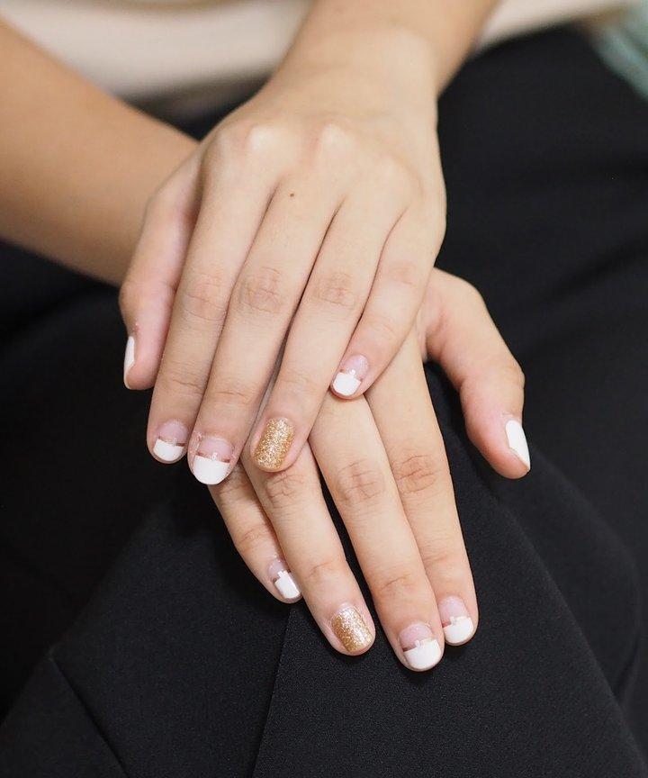 Nail Strip - Dazzle White