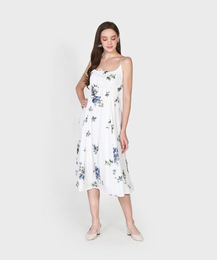 Per Se Floral Midi Dress