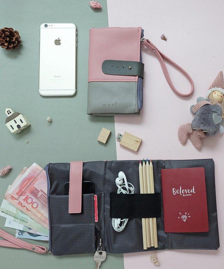 Pink Grey Organiser