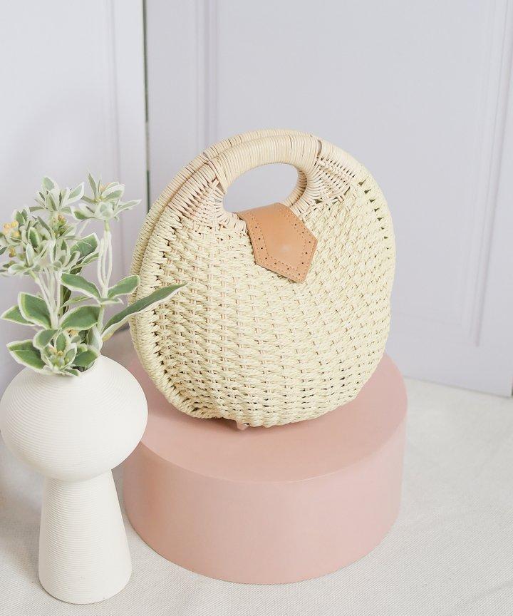 Breonna Woven Bag - Natural