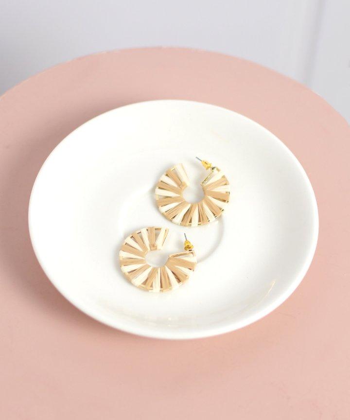 Brie Colourblock Earrings