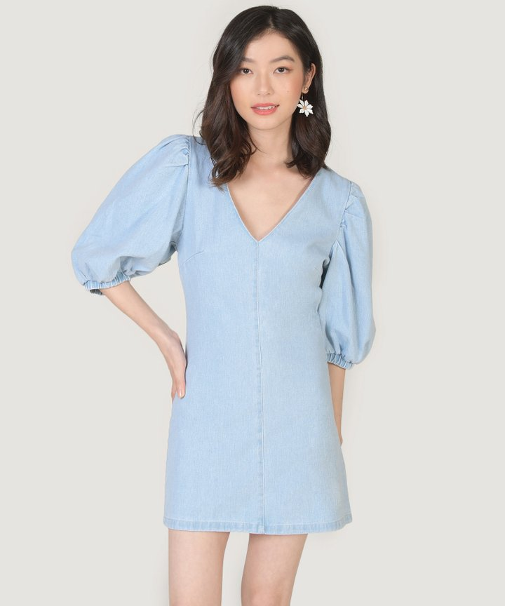 Heloise Denim Dress (Restock)