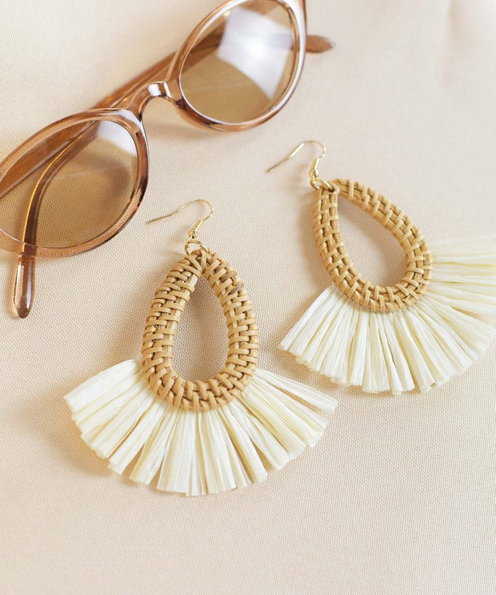 Maje Woven Earrings
