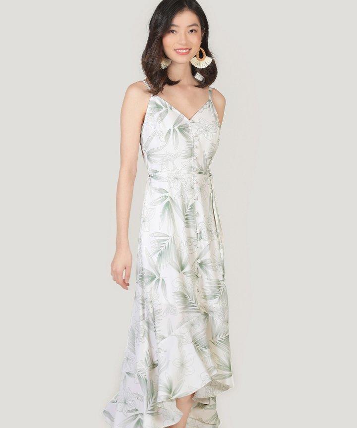 Malibu Asymmetrical Dress - Green