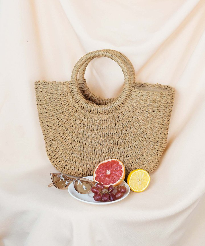 Margot Woven Bag - Medium