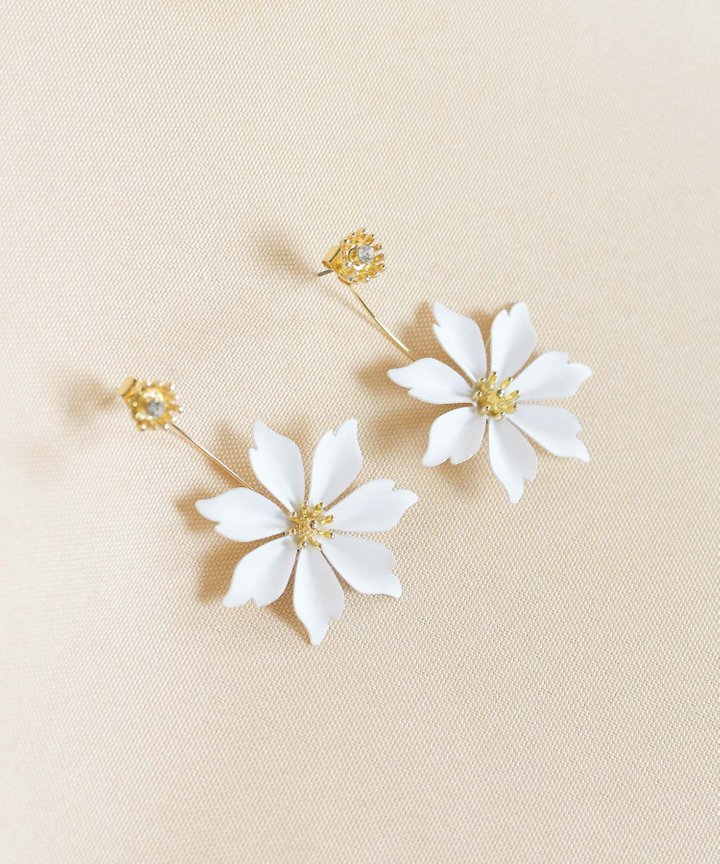 Notte Floral Earrings (Backorder)