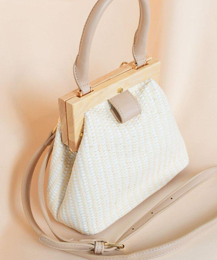 Savoy Straw Bag
