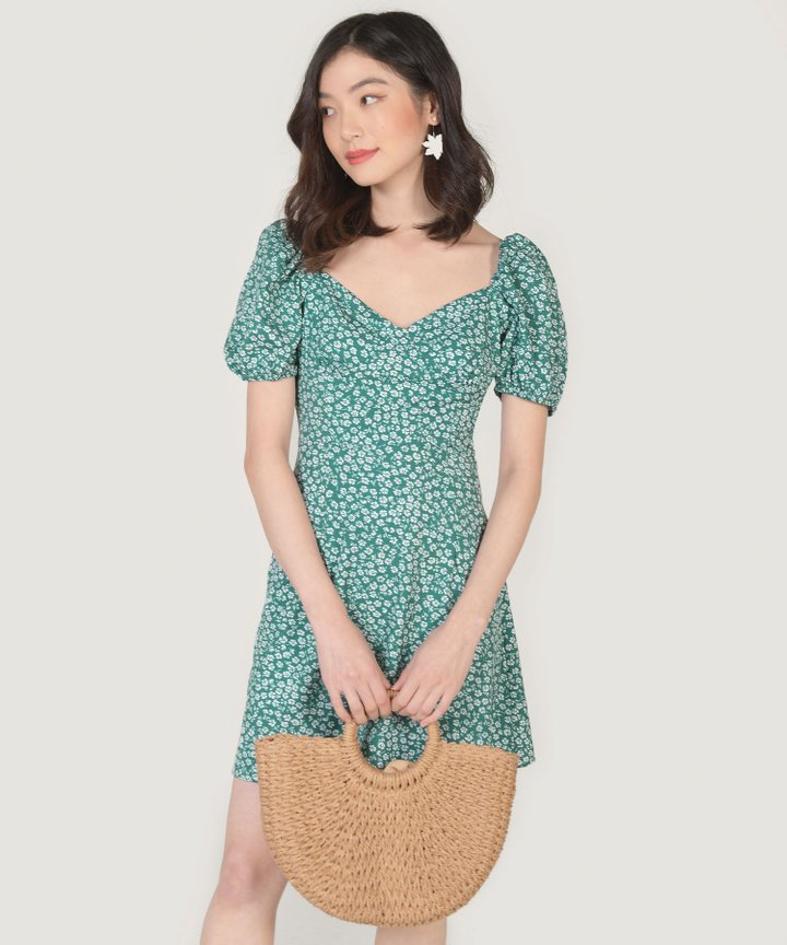 St. Tropez Floral Mini Dress (Restock)