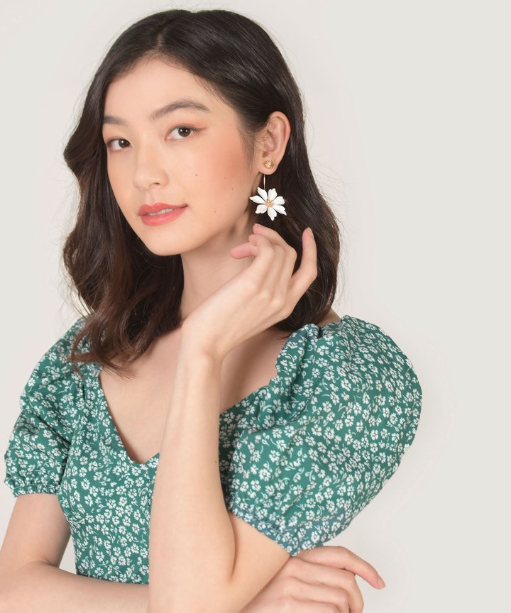 Notte Floral Earrings