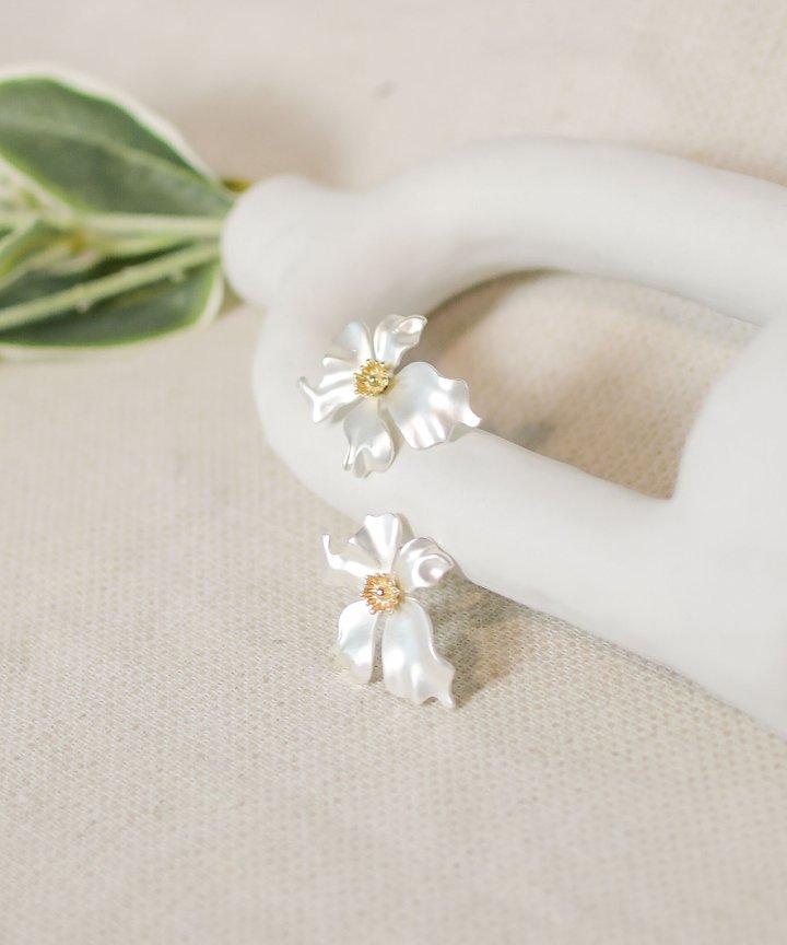 Belles Floral Statement Earrings