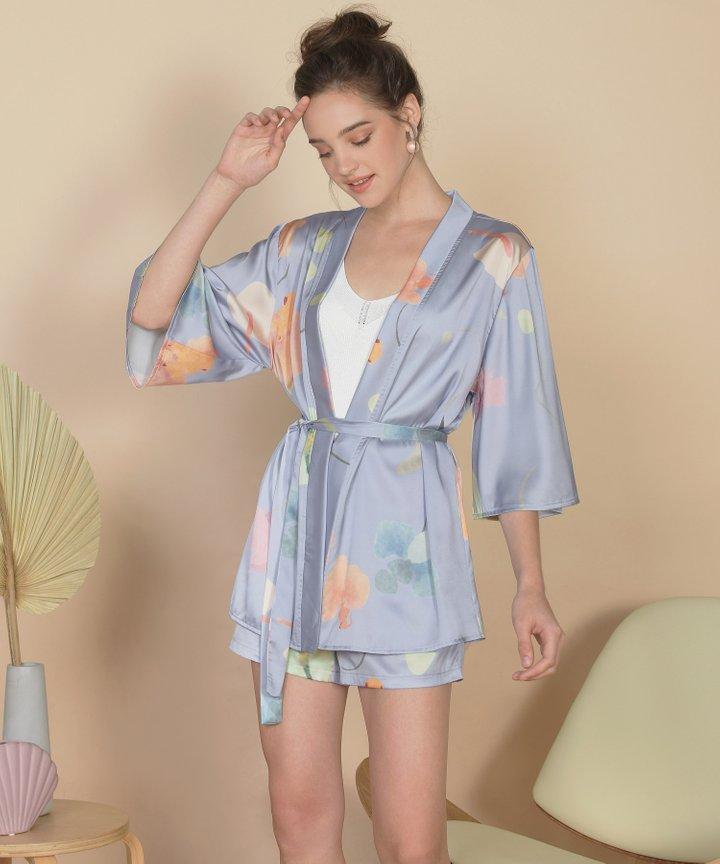 Bellflower Kimono - Hydrangea Blue (Backorder)