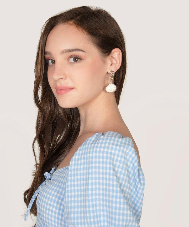 Olena Seashell Earrings