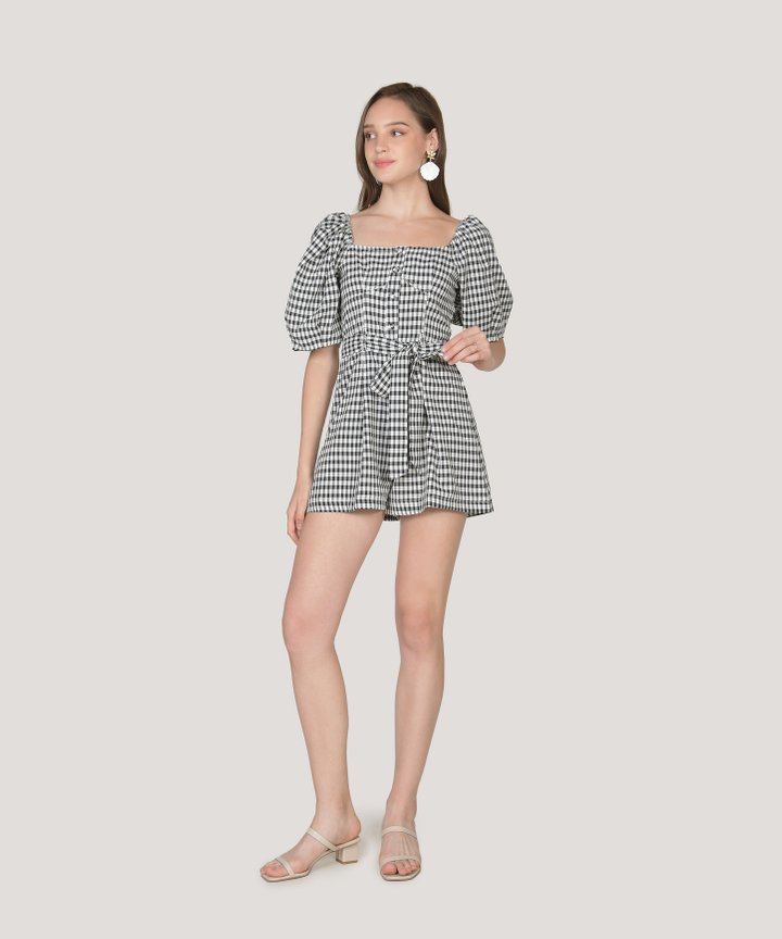 Blaise Gingham Playsuit (Backorder)