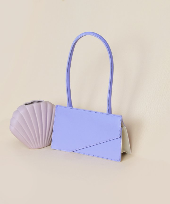 Genoa Rectangular Bag - Lilac