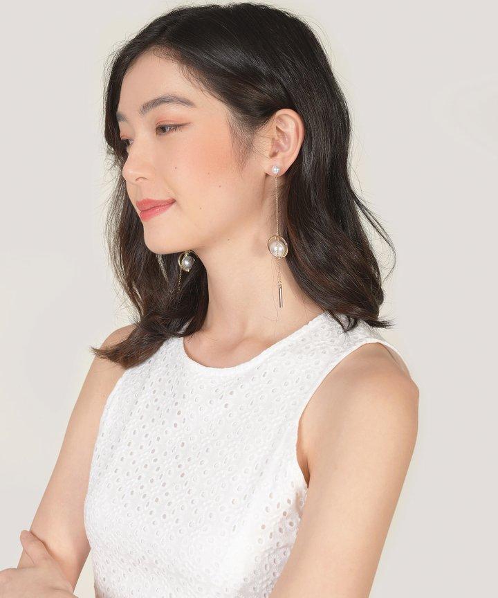Pierrot Pearl Drop Earrings