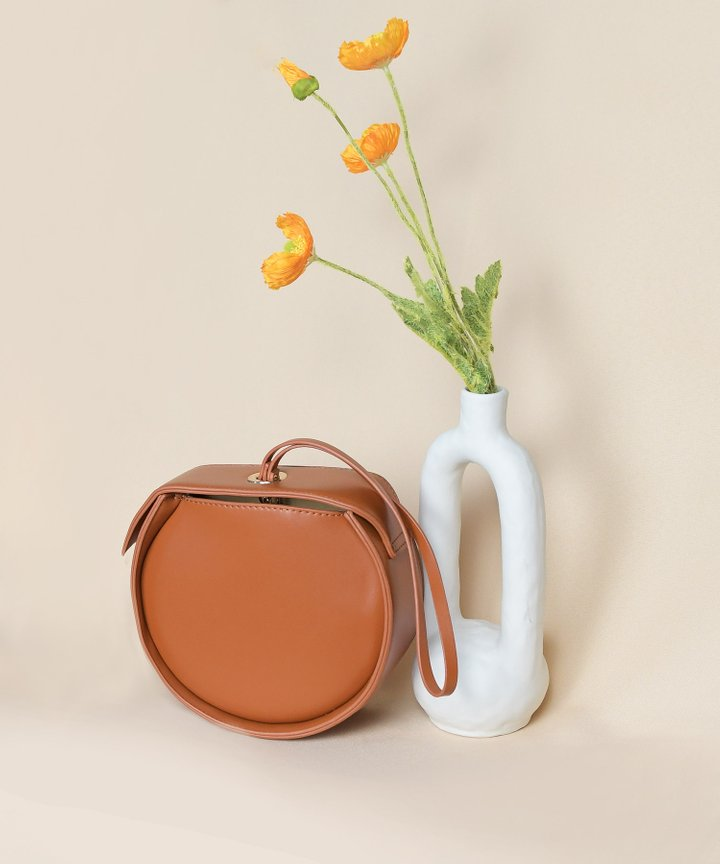 Moda Circle Bag - Ginger Brown