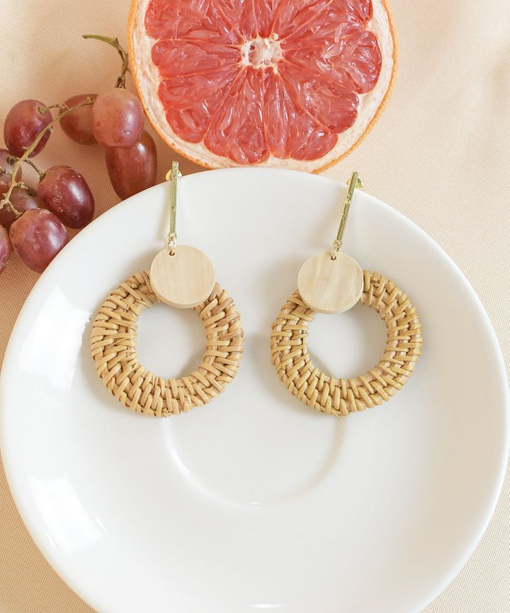 Mona Circle Earrings