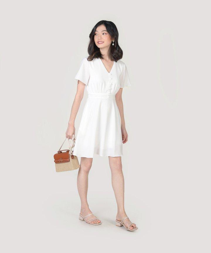 Odessa Dress - White
