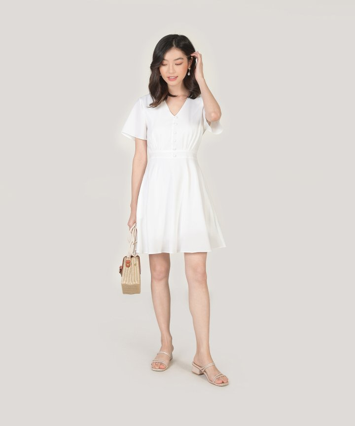 Odessa Dress - White