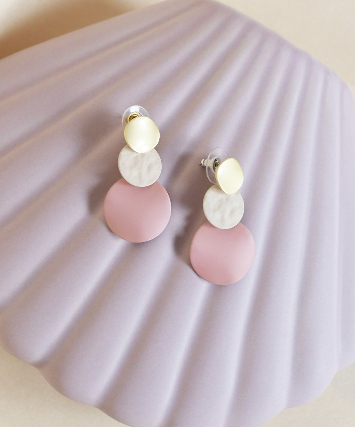 Pio Colourblock Earrings