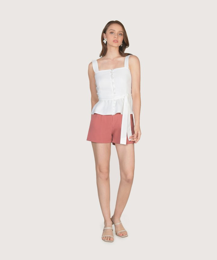 Reinhart Shorts - Coral Rose