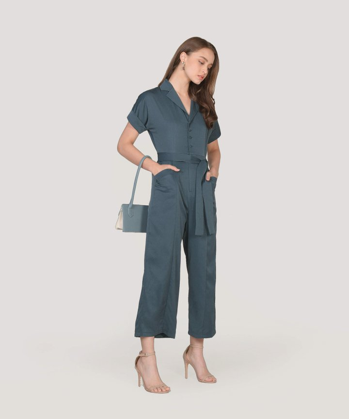 Emerson Jumpsuit - Dark Teal
