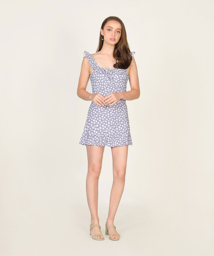 Halette Floral Mini Dress