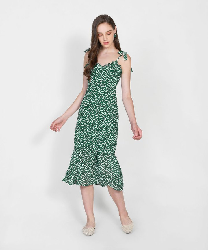 Lakewood Floral Midi Dress