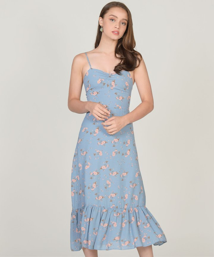 Lilou Floral Midi Dress