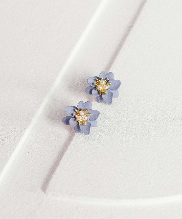 Maille Floral Earrings