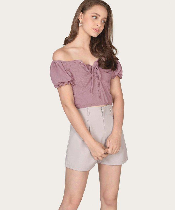 Reinhart Shorts - Pebble Grey