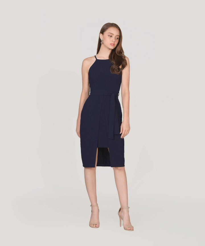 Philosophy Dress - Midnight Blue