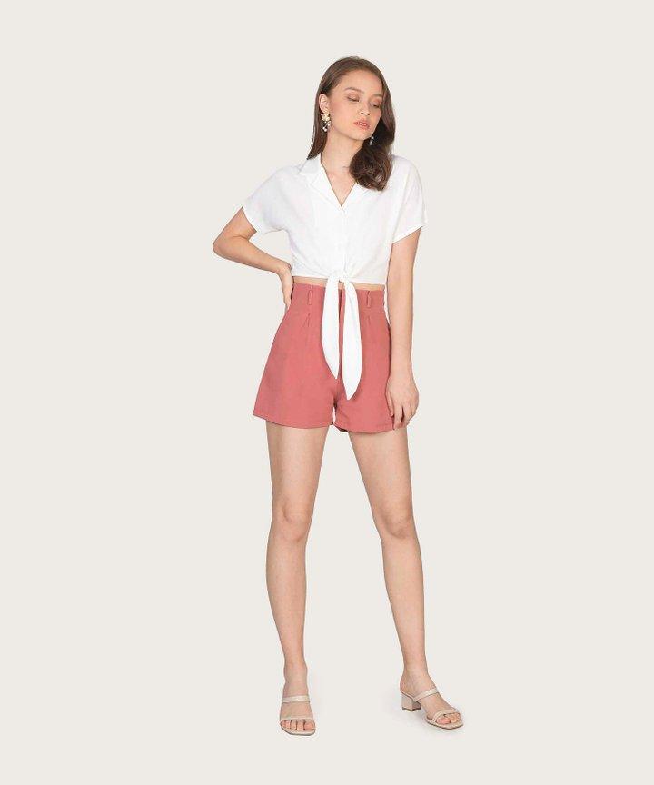 Reinhart Shorts - Coral Rose