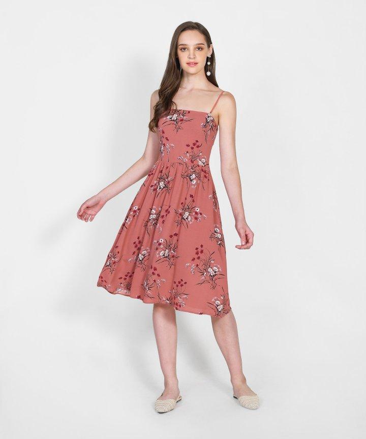 Santa Ana Floral Midi Dress