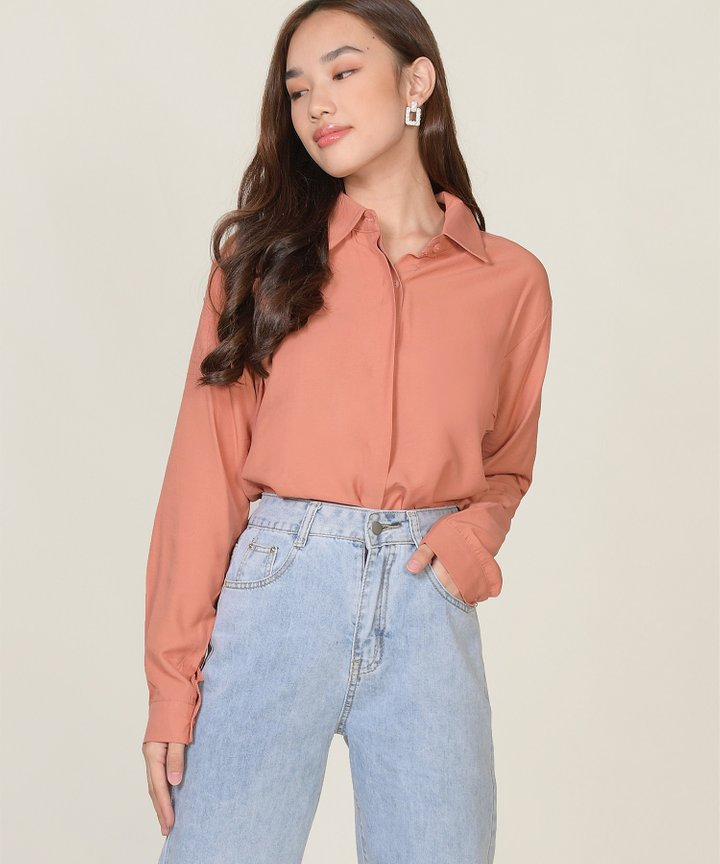 Bobbi Shirt - Peony