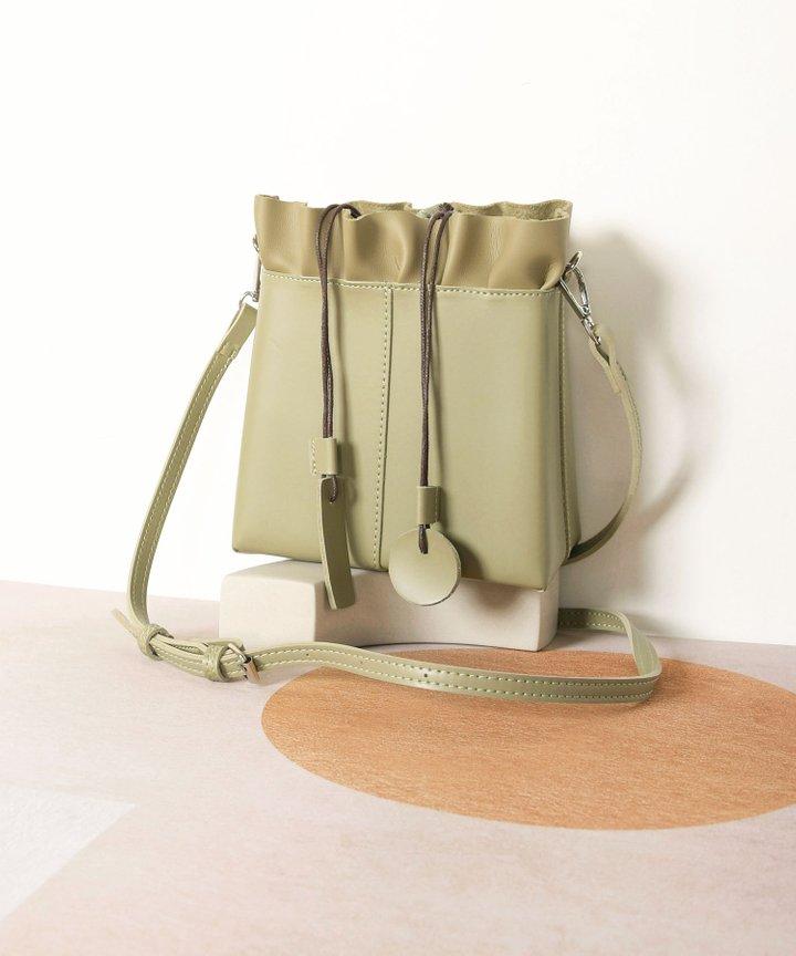 Esmire Ruffle Bag - Olive