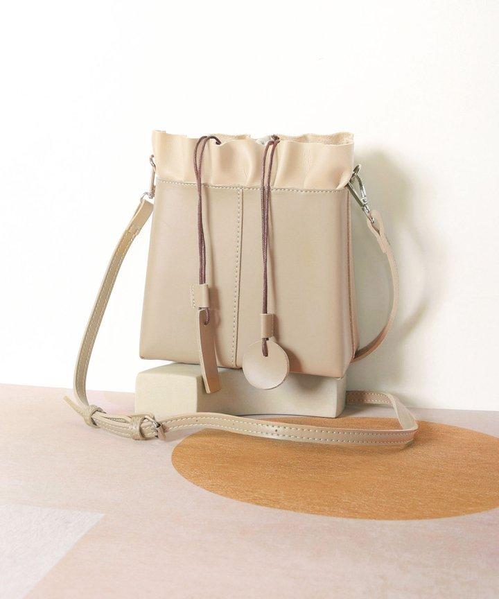 Esmire Ruffle Bag - Sand
