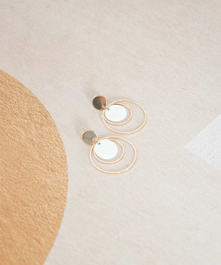 Franc Multi Hoop Earrings