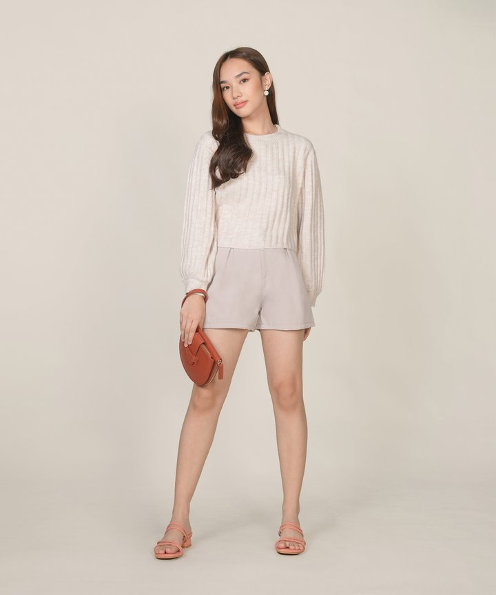 Reinhart Shorts - Pebble Grey
