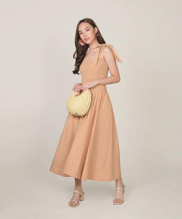 Laduree Smocked Maxi Dress