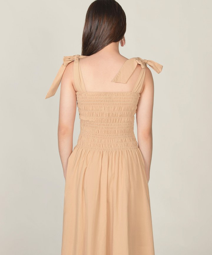 Laduree Smocked Maxi Dress