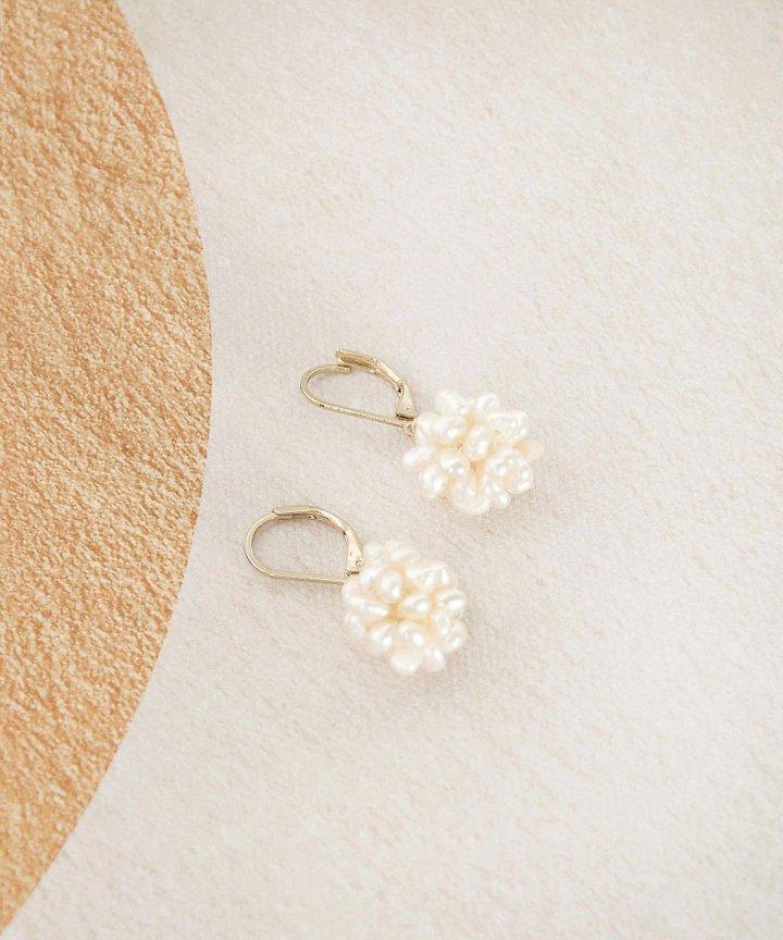Marcheline Pearl Earrings